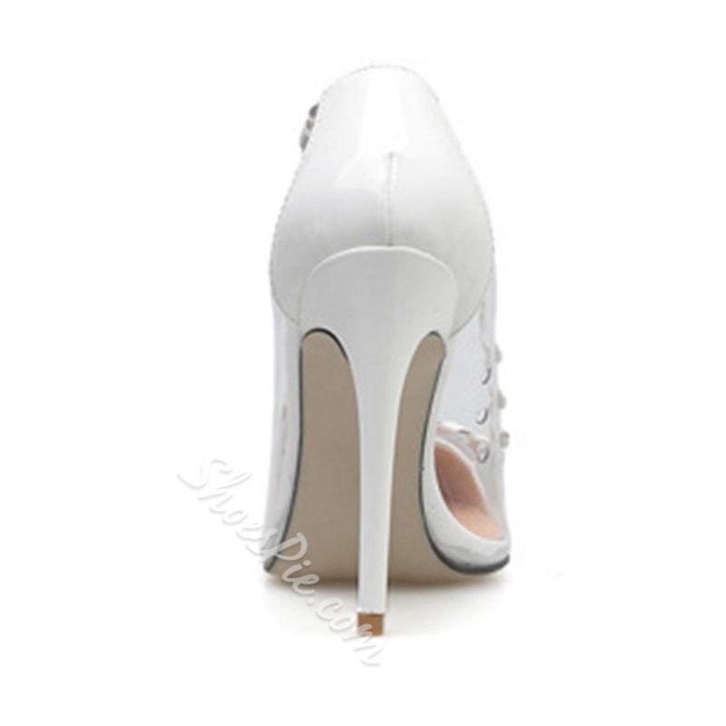 Shoespie Trendy Stiletto Heel Pointed Toe Slip-On Thin Shoes
