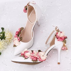 Shoespie Stylish Line-Style Buckle Stiletto Heel Wedding Sandals