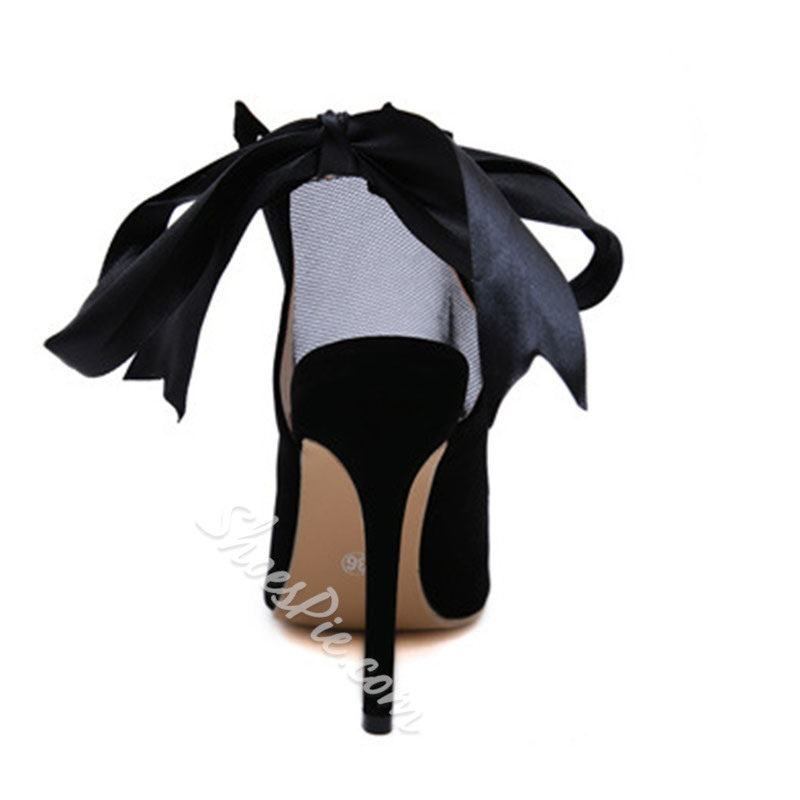 Shoespie Stylish Stiletto Heel Pointed Toe Fashion Sandals