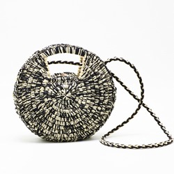Shoespie Grass Knitted Circular Crossbody Versatile Bags