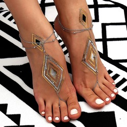 European E-Plating Female Anklets