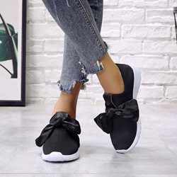 Shoespie Stylish Round Toe Flat With Low-Cut Upper Sneakers