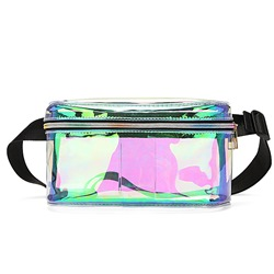 Shoespie Women Thread PVC Waist Bags