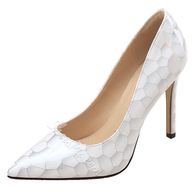 Shoespie Stylish Stiletto Heel Pointed Toe Slip-On Casual Thin Shoes