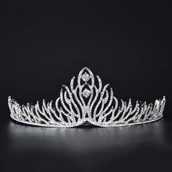 Diamante Vintage Tiara Wedding Crown