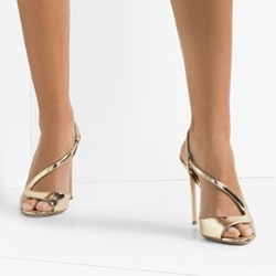 Shoespie Sexy Slip-On Peep Toe Stiletto Heel Casual Sandals