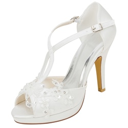 Shoespie Sexy Stiletto Heel Heel Covering Slip-On Wedding Sandals