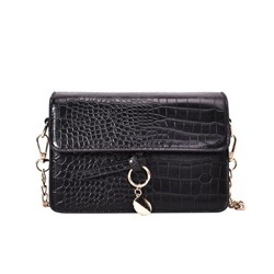 Shoespie Polyester Plain Sweet Rectangle Crossbody Bags