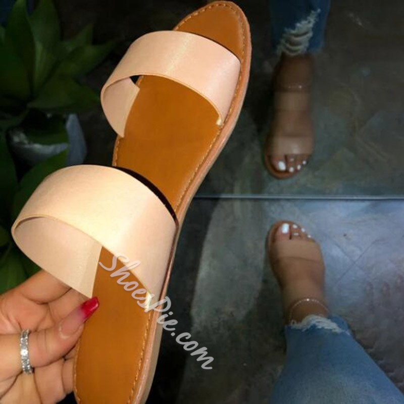 Shoespie Stylish Flip Flop Flat Casual Slippers