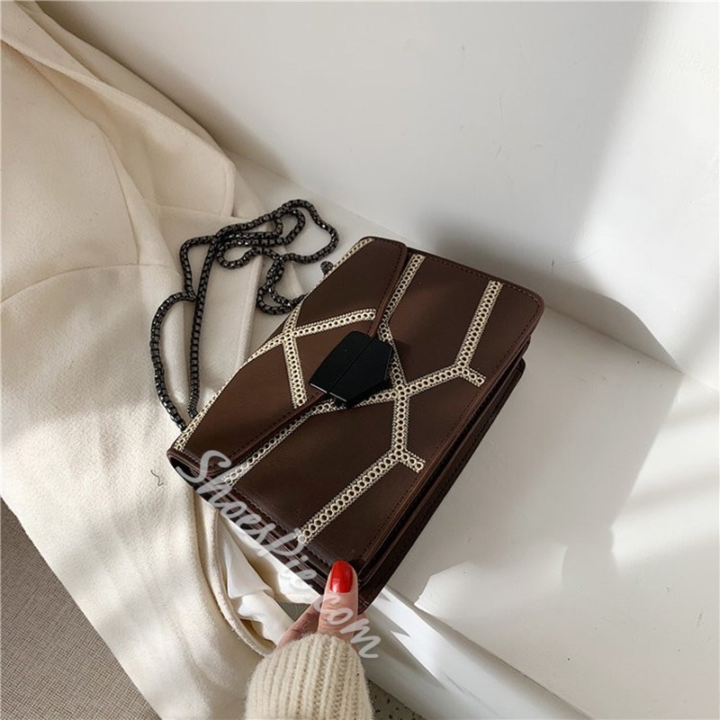 Shoespie Sweet Polyester Rectangle Crossbody Bags