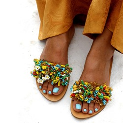 Shoespie Stylish Slip-On Flat With Summer Slippers