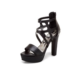 Shoespie Sexy Open Toe Heel Covering Chunky Heel Mid-Cut Upper Sandals