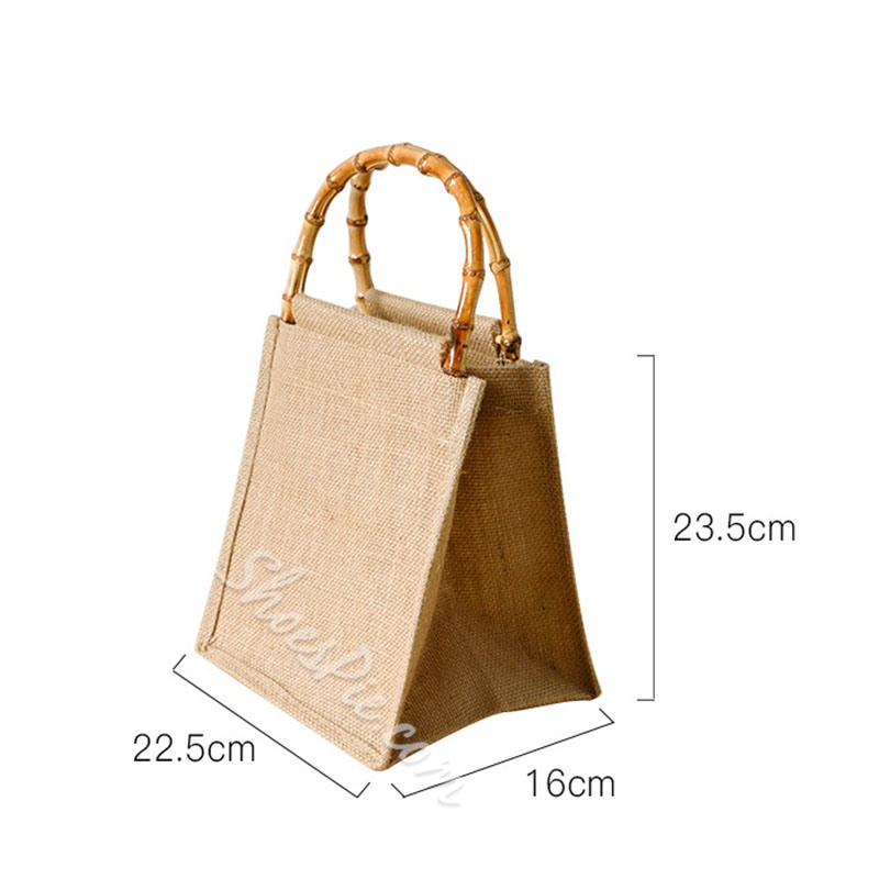 Casual Travel Plain Tote Bags