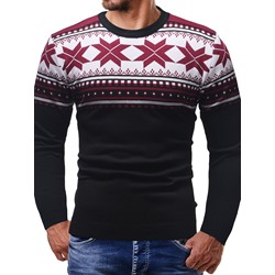 Standard Round Neck Slim England Sweater