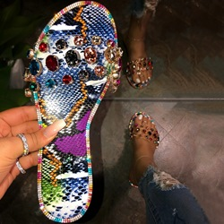 Shoespie Sexy Flip Flop Slip-On Flat With Summer Slippers