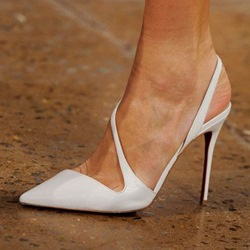Shoespie Stylish Thread Slip-On Pointed Toe Plain Thin Shoes