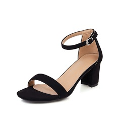 Shoespie Sexy Open Toe Heel Covering Chunky Heel Casual Sandals