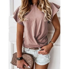 Short Sleeve Standard Loose Women's T-Shirt