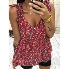 Summer Casual Loose Women's Tank Top