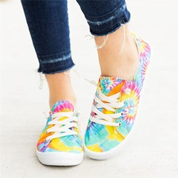 Shoespie Trendy Lace-Up Thread Flat With Flat Heel(≤1cm) Thin Shoes