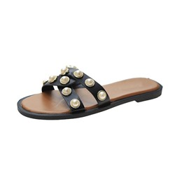 Shoespie Stylish Flip Flop Flat With Slip-On Summer Slippers