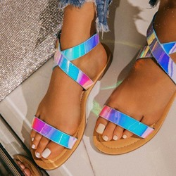 Shoespie Sexy Open Toe Block Heel Buckle Low-Cut Upper Sandals