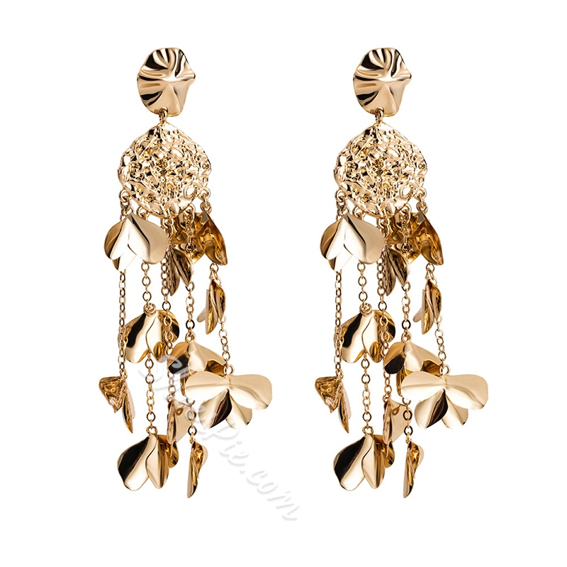 Sweet E-Plating Alloy Holiday Earrings