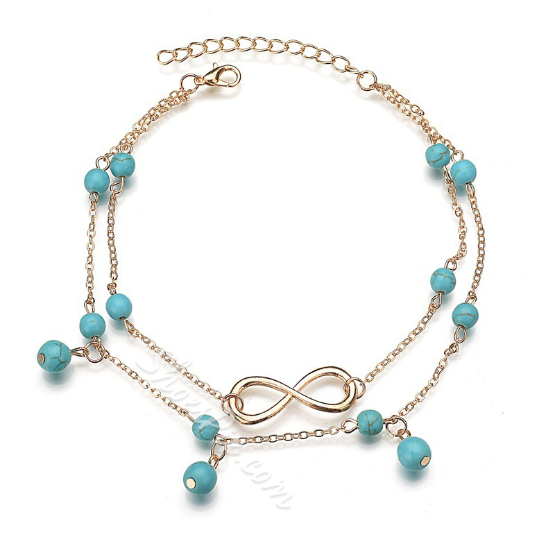 Female Spherical European Anklets Anklets