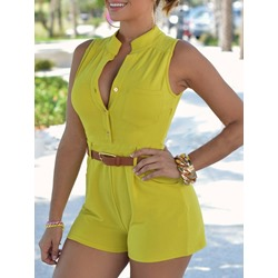 Shorts Casual Slim Women's Jumpsuit
