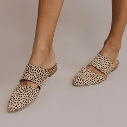 Shoespie Sexy Print Closed Toe Slip-On Casual Slippers