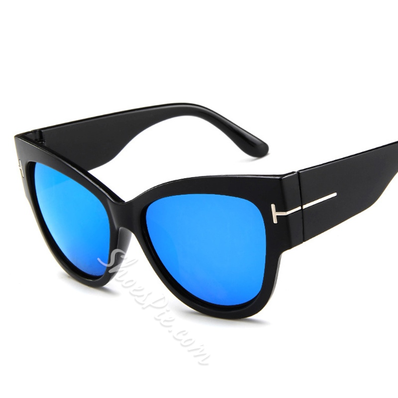 Cat Eye Vintage Resin Poly Carbonate Sunglasses