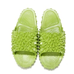 Shoespie Stylish Slip-On Flat With Flip Flop PVC Slippers