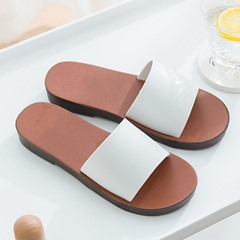 Shoespie Sexy Slip-On Flat With Flip Flop Casual Slippers