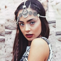 Vintage E-Plating Head Chain Wedding Hair Accessories
