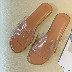 Shoespie Stylish Flip Flop Flat With Slip-On Casual Slippers