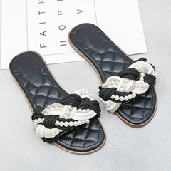 Shoespie Trendy Flat With Flip Flop Slip-On Casual Slippers