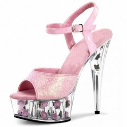 Shoespie Trendy Buckle Stiletto Heel Peep Toe Sexy Sandals