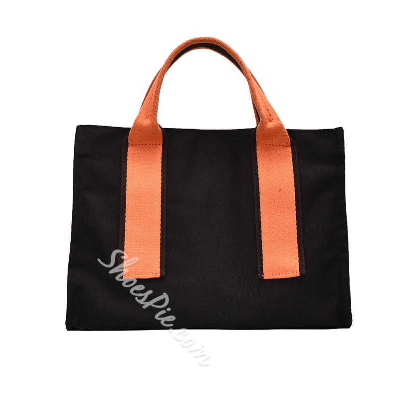 Shoespie Thread Canvas Square Tote Bags