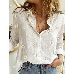 Print Regular Floral Standard Women's Blouse