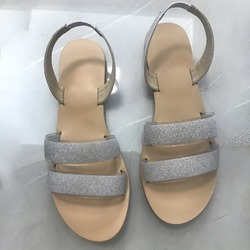 Shoespie Trendy Slip-On Flat With Open Toe Stone Sandals
