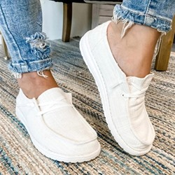 Shoespie Sexy Flat With Thread Lace-Up Low-Cut Upper Thin Shoes