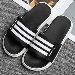 Shoespie Sexy Flat With Slip-On Flip Flop Color Block Slippers