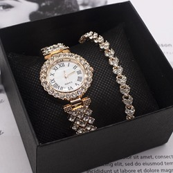 Glass Round Quartz Watches