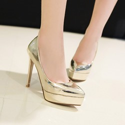 Shoespie Sexy Slip-On Platform Closed Toe Low-Cut Upper Thin Shoes