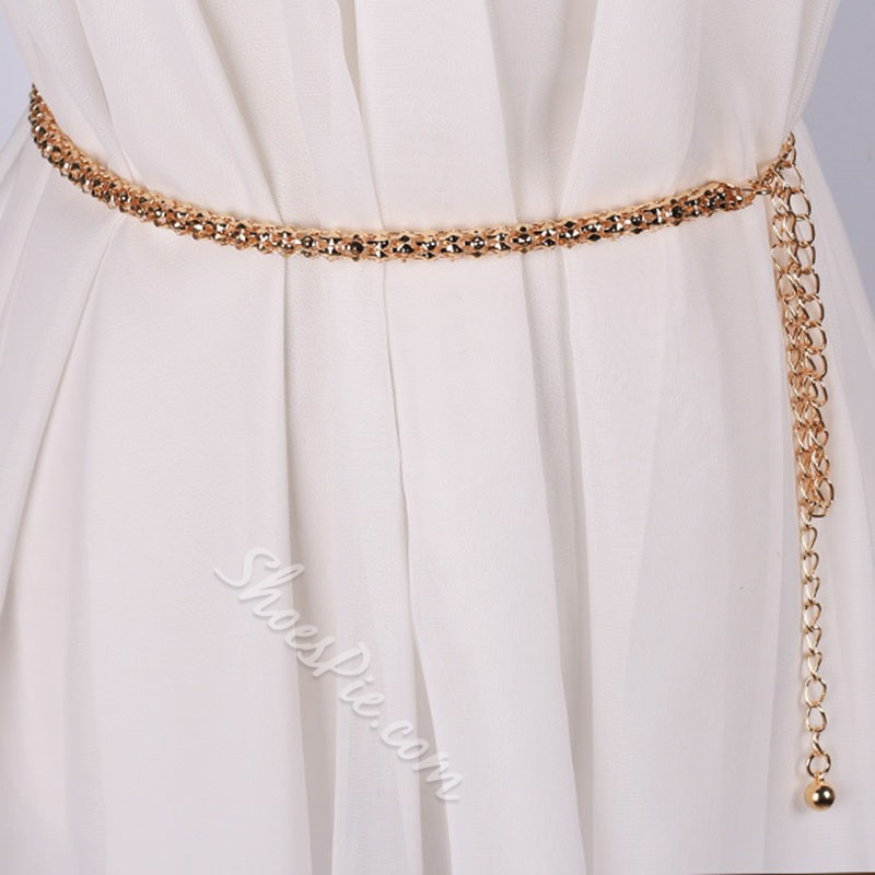 Metal Sweet Female Waist Chains