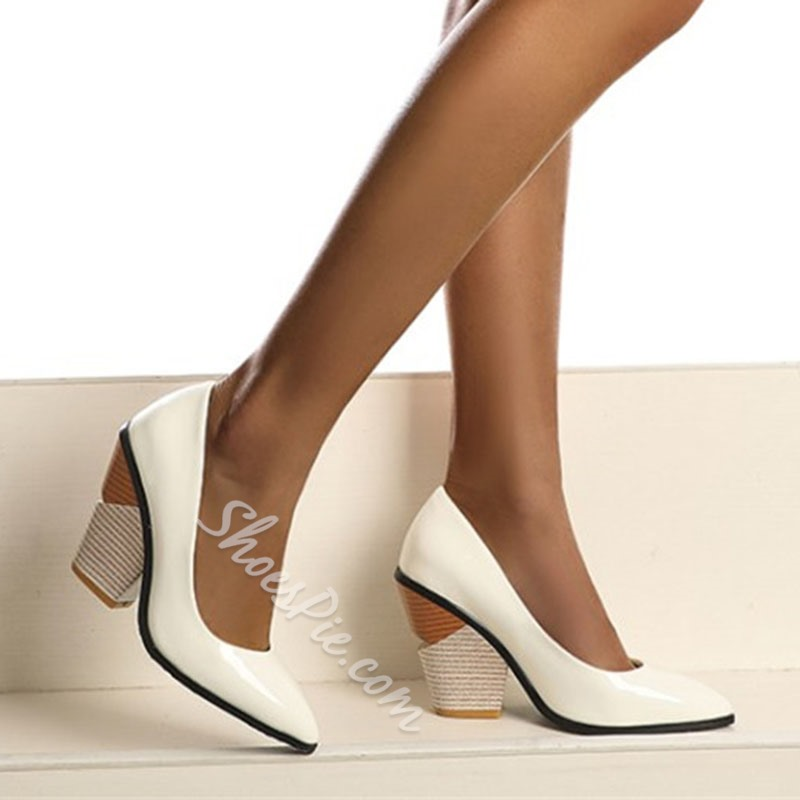 Shoespie Stylish Slip-On Pointed Toe 10cm Thin Shoes