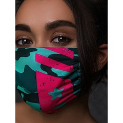 Camouflage Colourful Safety Masks