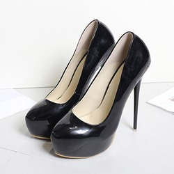 Shoespie Stylish Platform Round Toe Stiletto Heel Ultra-High Heel(≥8cm) Thin Shoes
