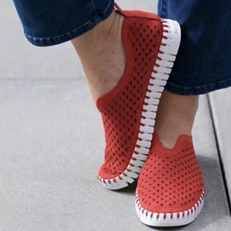 Shoespie Sexy Slip-On Thread Flat With Western Thin Shoes