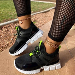 Shoespie Stylish Low-Cut Upper Round Toe Lace-Up PU Sneakers